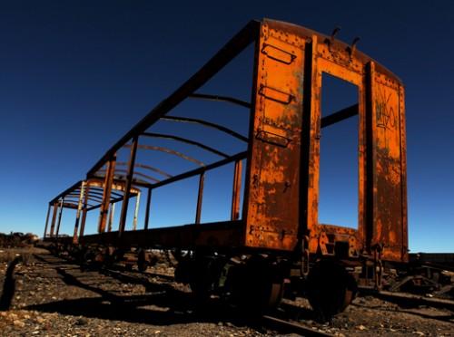 Vagon olvidado